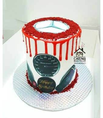 Benz Themed Cake N10,000 For him